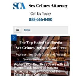 California Sex Crimes Attorney