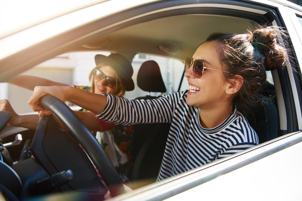 5772c000a21 women wearing sunglasses while driving. Importance of Sunglasses During  Winter