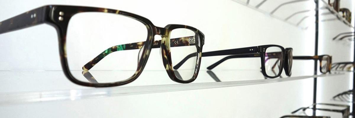 a selection of prescription eyeglasses