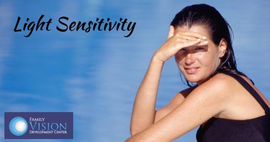 light sensitivity