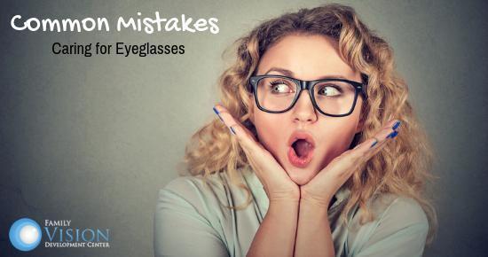 Caring for Eyeglasses