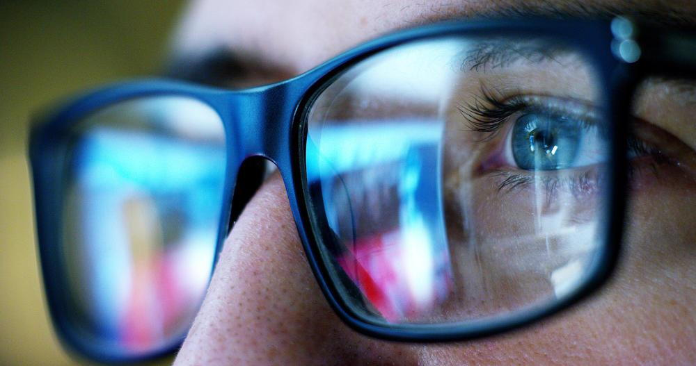 A Close Up Of A Persons Eyes With Glasses- What Are The Benefits Of EyeMed Insurance Pensacola- Fifty Dollar Eye Guy 5328 N Davis Hwy Pensacola, FL 32503 (850) 434-6387
