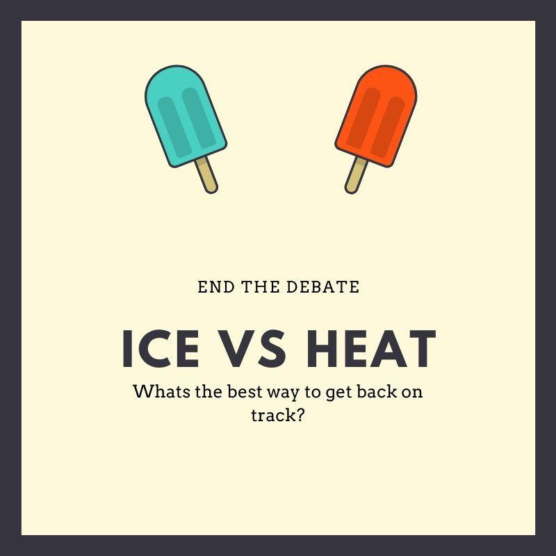 Ice or heat for injury