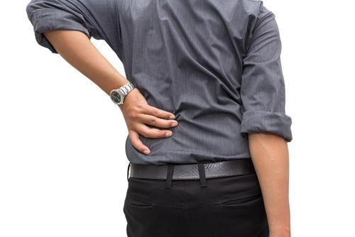 patient needing low back doctor in New Albany for treatment laser therapy