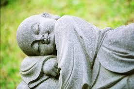buddha statue lying down