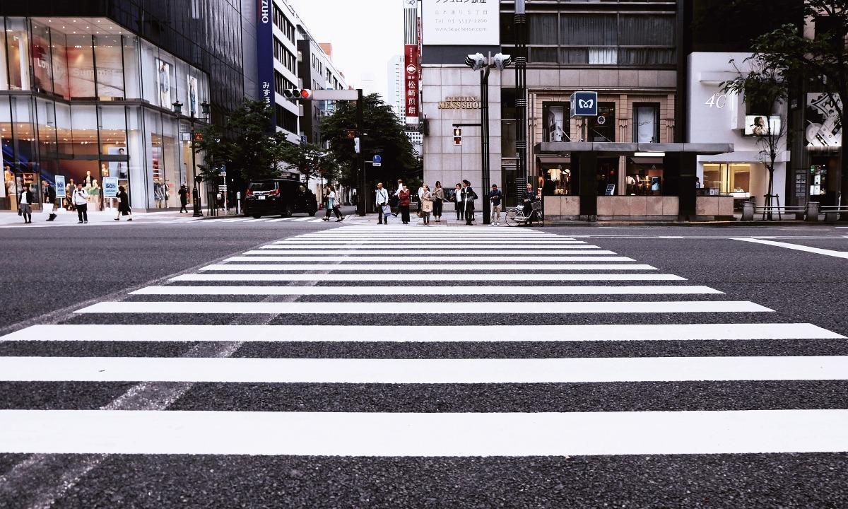 A crosswalk