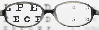 Refraction eye exam phoropter