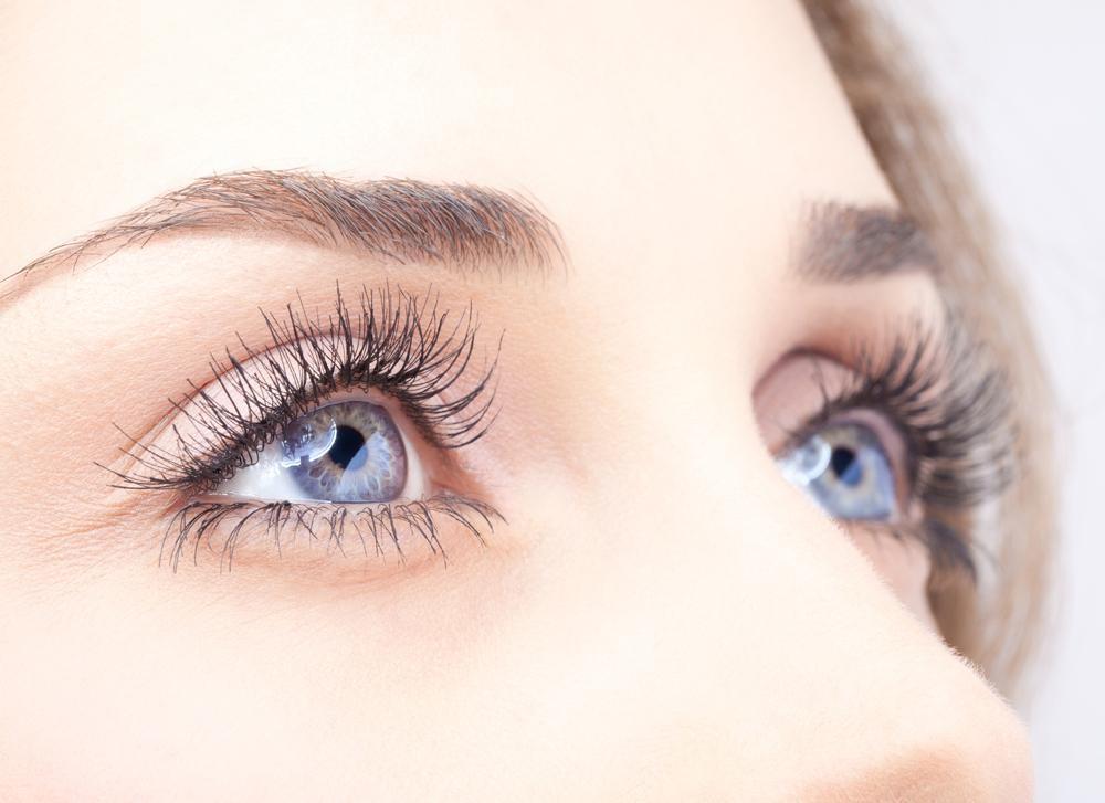 woman's eye closeup