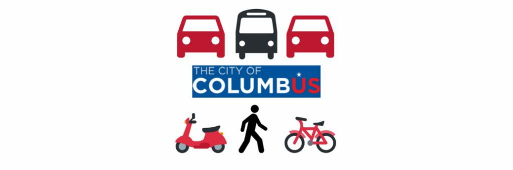 Columbus Transportation Alternatives biking bus rideshare