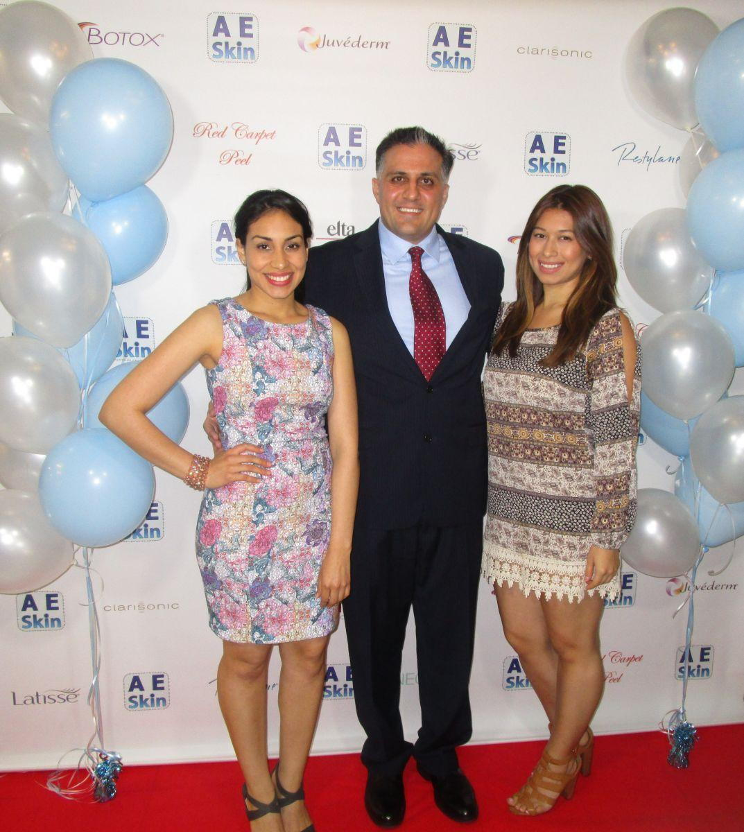 Dr. Alex with Karla and Erica