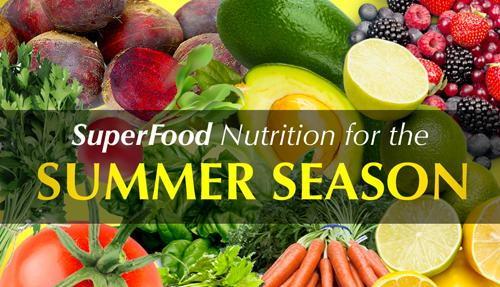 gut friendly summertime foods