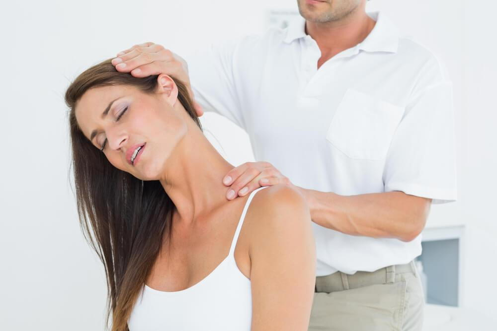 how to fix tech neck with chiropractic