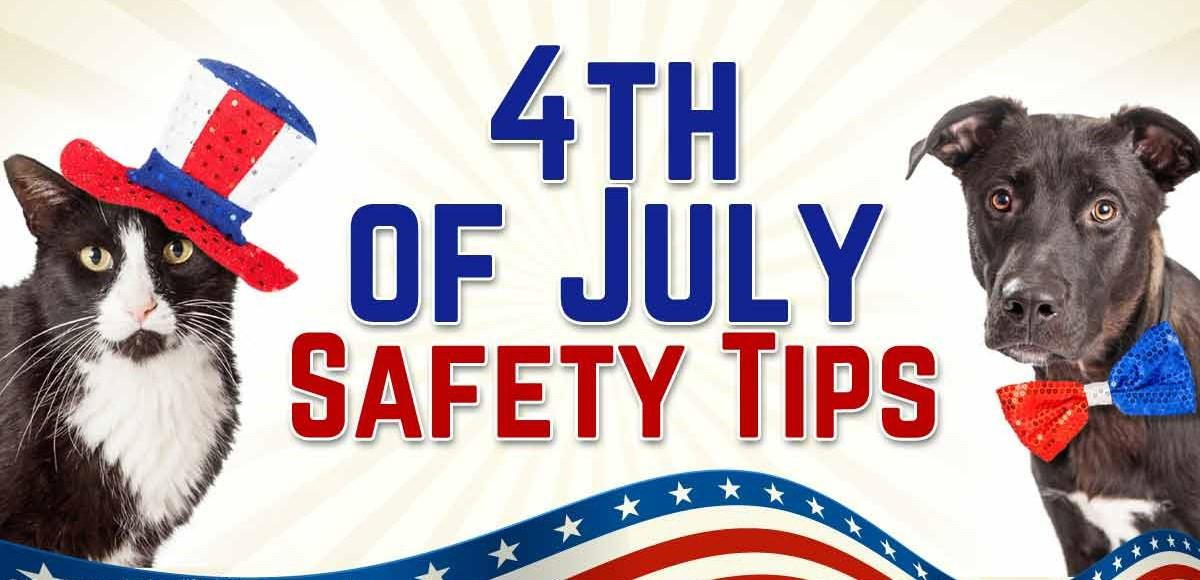 July 4th Tips for Pet Safety