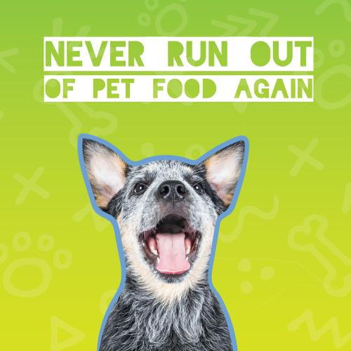 Never Run out of Pet Food again with Autoship from Vetsource