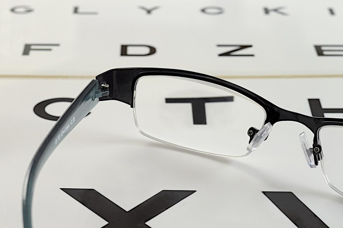 Glasses On An Eye Chart-  What Places Take EyeMed Insurance In Pensacola FL- Fifty Dollar Eye Guy 5328 N Davis Hwy Pensacola, FL 32503 (850) 434-6387