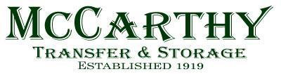 Mccarthy Transfer & Storage - A San Diego Moving Company