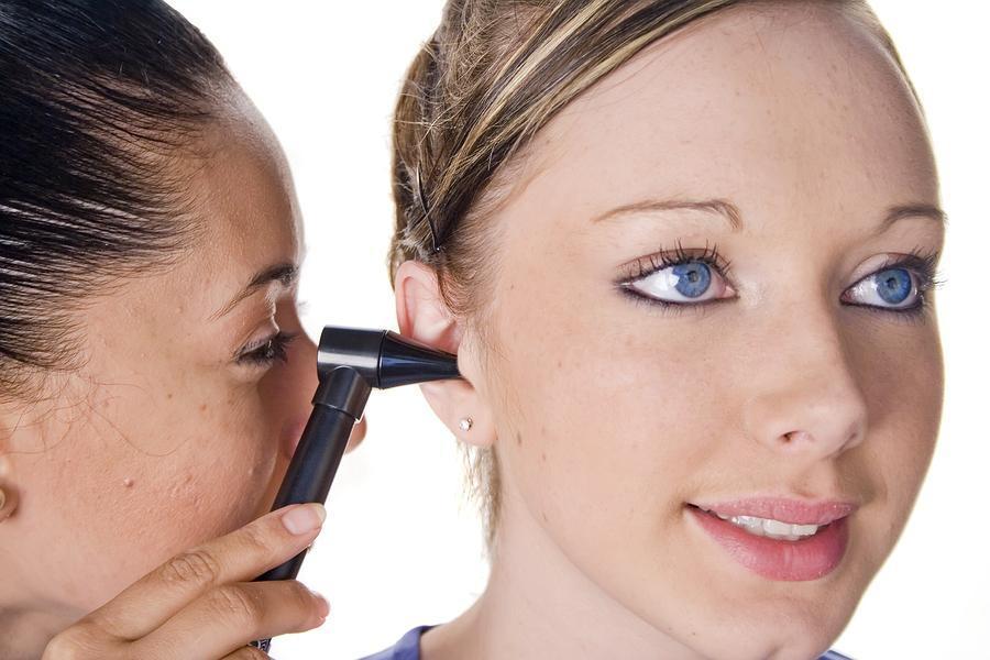 Audiologist Ear Exam