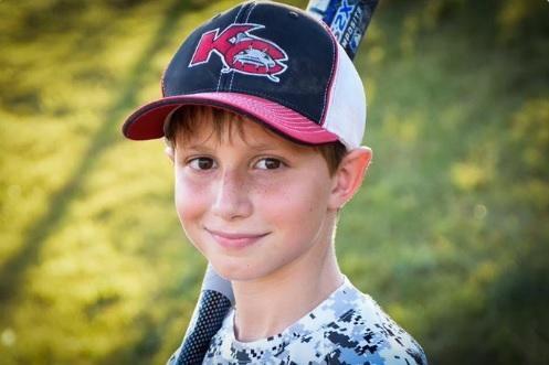 Caleb Schwab, who died on a water slide in Kansas City, Kan. (Image from Twitter)