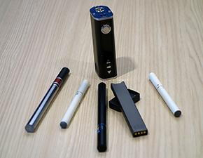 Electronic nicotine devices can look like a pen, a computer memory stick, a car key fob or even an asthma inhaler.