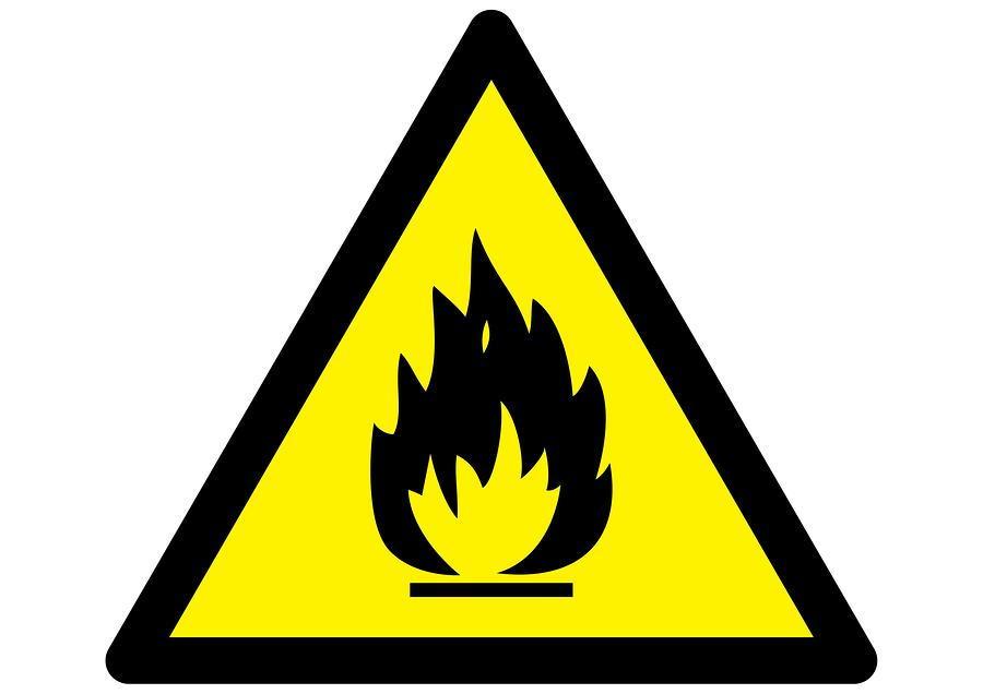 Burn Hazard